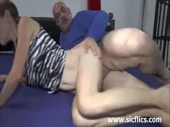 Teen slut double penetrated