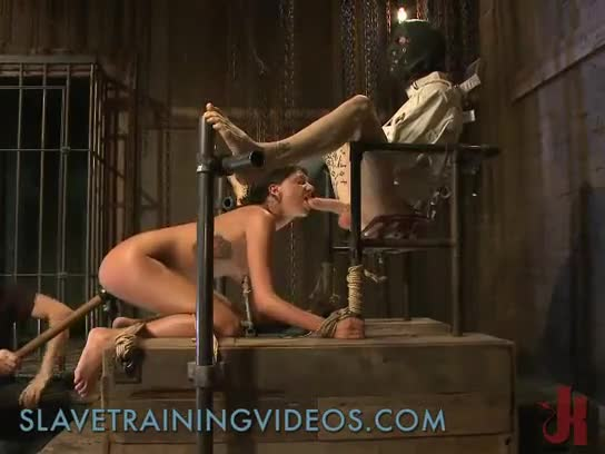 Bdsm hardcore action with ropes and extreme banging