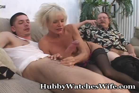 Older men and younger wife